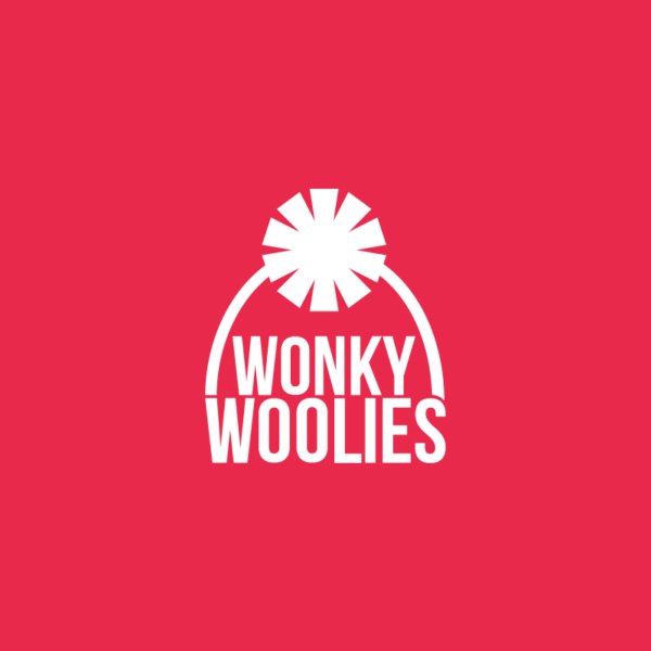 A picture of the Wonky Woolies logo