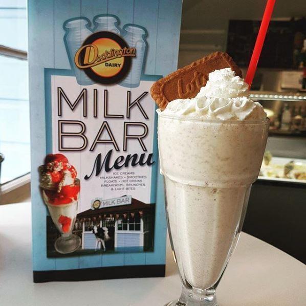 A milkshake available at Doddington Milk Bar.