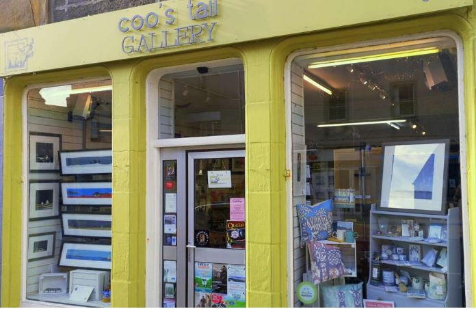 Coo's Tail Gallery shop front