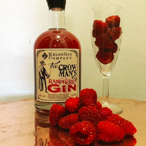 A bottle of raspberry gin would make a great Valentines gift.