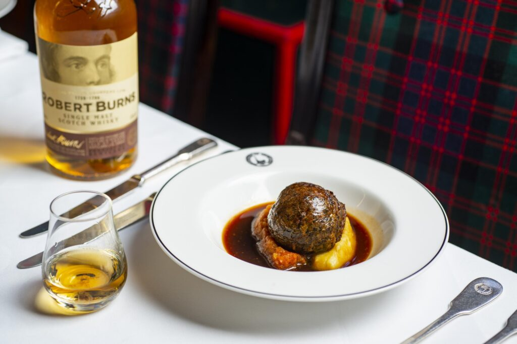 Haggis, neeps and tatties for a Burns Supper