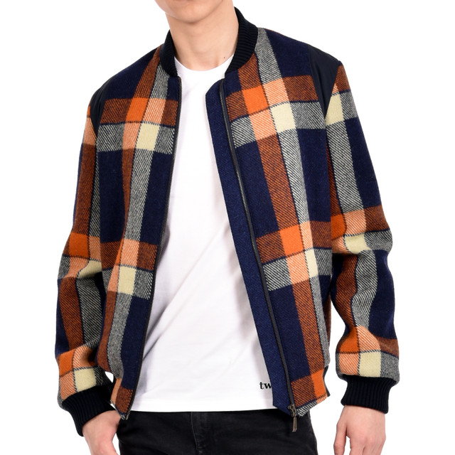 Harris Tweed Bomber Jacket stocked exclusively in 239 The High Street.