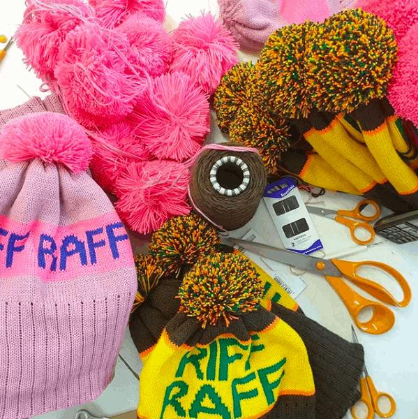 Custom design for Riff Raff.